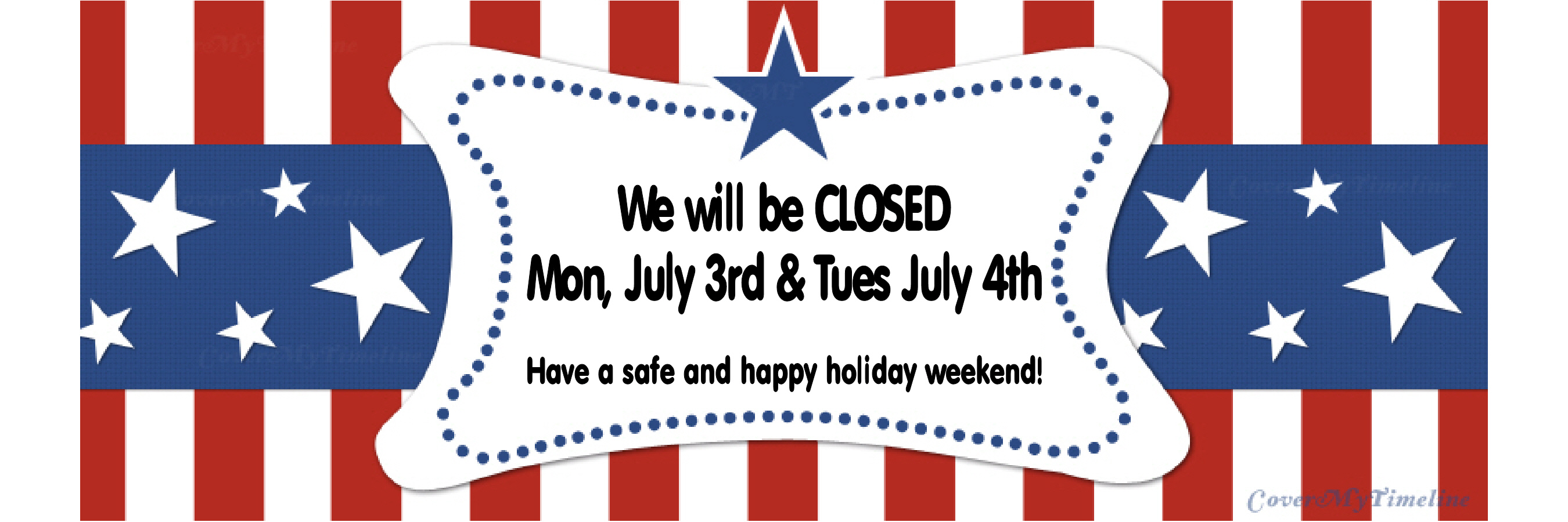 web banner july 4th hours