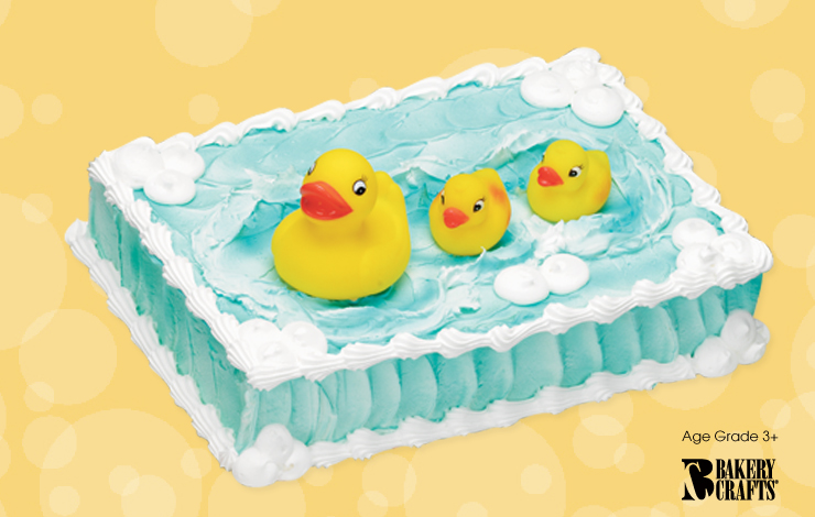 Baby Shower Cakes Jackson Mi ~ Rubber duck cake topper kit connection